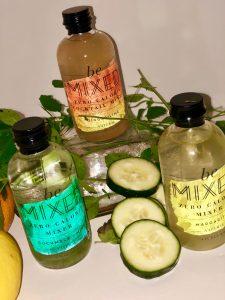 Sugar-free Minty Cucumber Spritzer